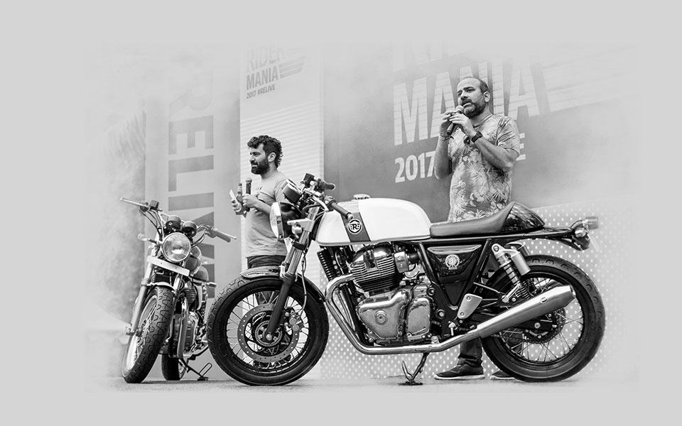Royal Enfield (India) 2017-twins-launch